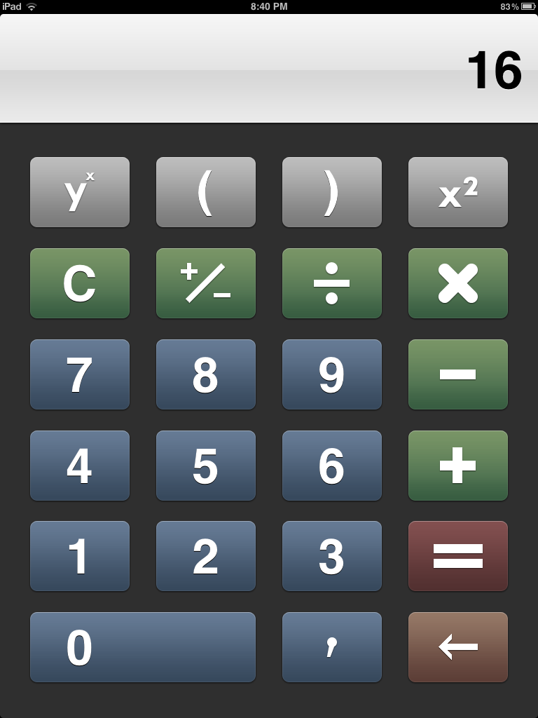 Online Calculator App